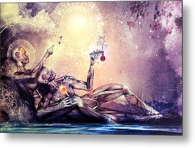All We Want To Be Are Dreamers Metal Print by Cameron Gray