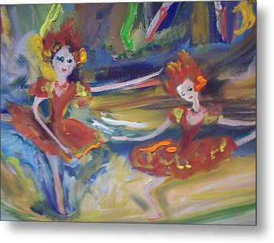Allegro And Andante Metal Print by Judith Desrosiers