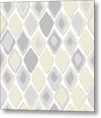 Almas Diamond Pure Metal Print by Sharon Turner