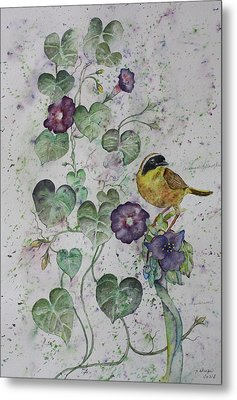 Almost Botanical Metal Print by Patsy Sharpe