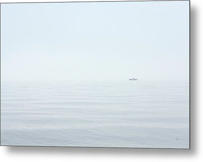 Almost Invisible Metal Print by Karol Livote