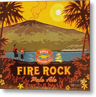 Aloha Series 3 Metal Print by Cheryl Young