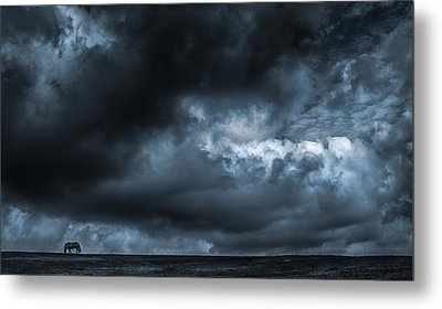 Alone Metal Print by Vincent  Dale