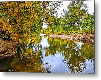 Along The Poudre Metal Print by Baywest Imaging