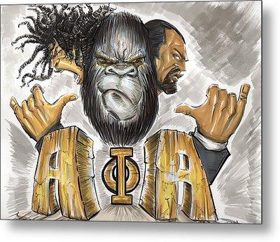 Alpha Phi Alpha Fraternity Inc Metal Print by Tu-Kwon Thomas