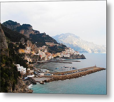 Amalfi Italy Metal Print by Pat Cannon