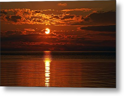 Amazing Sunset Metal Print by Aimee L Maher Photography and Art Visit ALMGallerydotcom