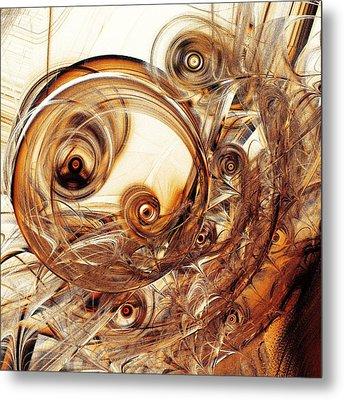 Amber Magic Metal Print by Anastasiya Malakhova