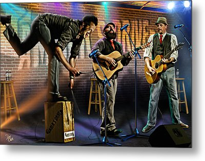 Amber's Drive Metal Print by Don Olea