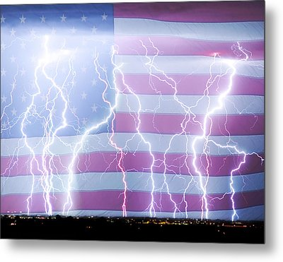 America The Powerful Metal Print by James BO  Insogna