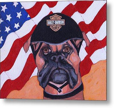 American Dawg Metal Print by Christina Hoffman