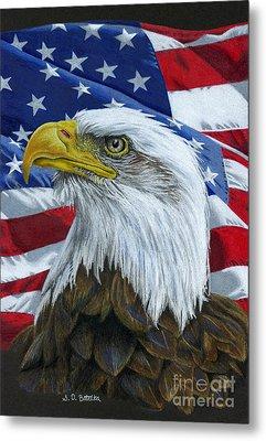 American Eagle Metal Print by Sarah Batalka