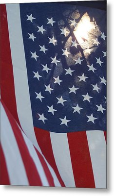 American Flag - 01131 Metal Print by DC Photographer