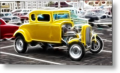 American Grafitti Coupe Metal Print by Steve McKinzie