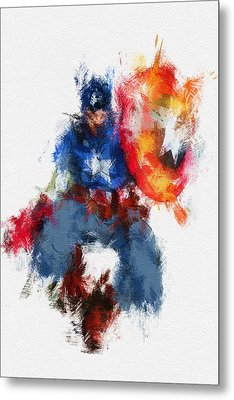 American Hero Metal Print by Miranda Sether