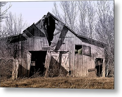 American Rural Metal Print by Tom Mc Nemar