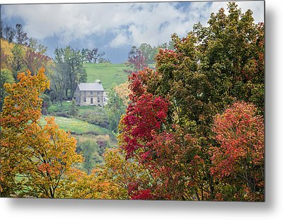 Scenic Amish Landscape 8 Metal Print by Shara Lee