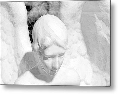 An Angel  Metal Print by Toppart Sweden