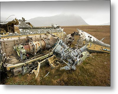 An Argentinian Puma Helicopter Metal Print by Ashley Cooper