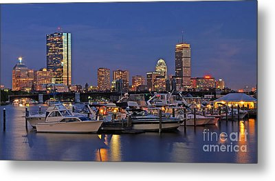 An Evening On The Charles Metal Print by Joann Vitali