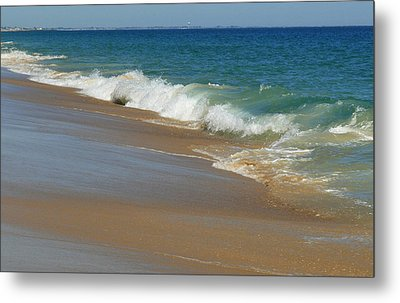 An Ocean View  Metal Print by Neal  Eslinger