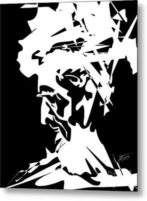 An Old Man Metal Print by Alex Tavshunsky