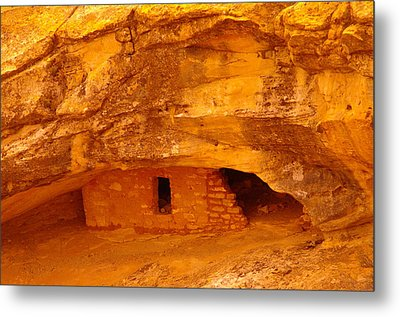 Anasazi Ruins  Metal Print by Jeff Swan