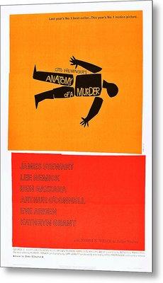 Anatomy Of A Murder, 1959 Metal Print by Everett