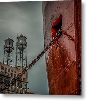 Anchor Chain Metal Print by Paul Freidlund