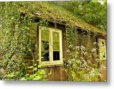 Ancient Cottage Metal Print by Rene Triay Photography