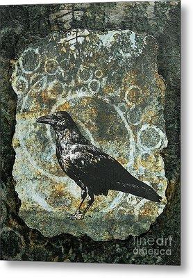 Ancient Spirals Metal Print by Judy Wood