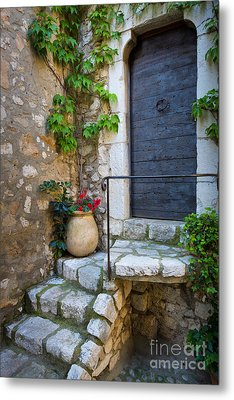 Ancient Stairs Metal Print by Inge Johnsson