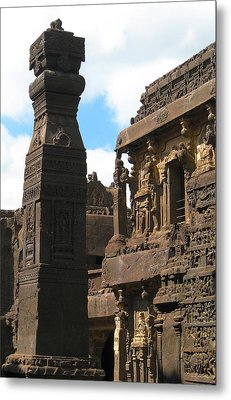 Ancient Tower Metal Print by Russell Smidt