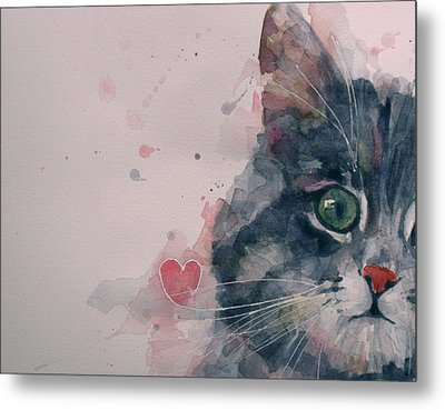 And I Love Her Metal Print by Paul Lovering