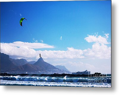 Andries - Redbull King Of The Air Cape Town  Metal Print by Charl Bruwer