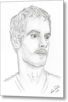 Andy Murray Metal Print by Steven White