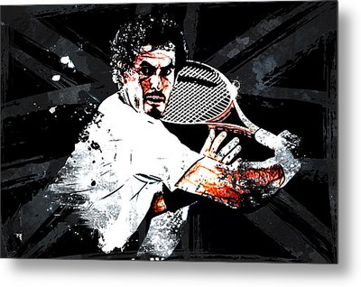 Andy Murray Metal Print by The DigArtisT