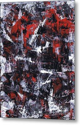 Aneurysm 1 - Middle Metal Print by Kamil Swiatek