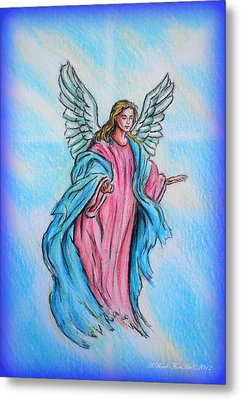 Angel Metal Print by Andrew Read