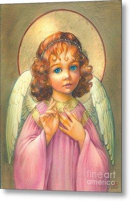 Angel Child Metal Print by Zorina Baldescu