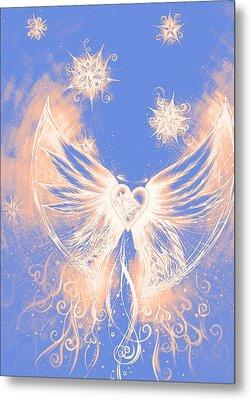 Angel II Metal Print by Andrea Carroll