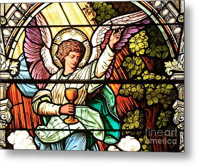 Angel With A Chalice Metal Print by Adam Jewell