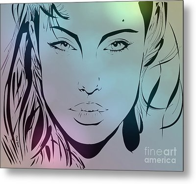 Angelina Metal Print by Cheryl Young
