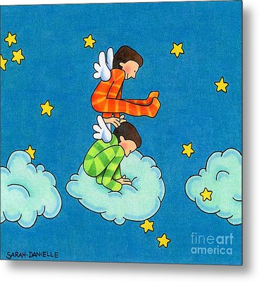 Angels Play Metal Print by Sarah Batalka