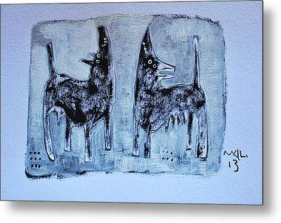 Animalia Canis No. 1 Metal Print by Mark M  Mellon