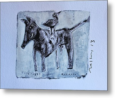 Animalia Canis No. 3 Metal Print by Mark M  Mellon