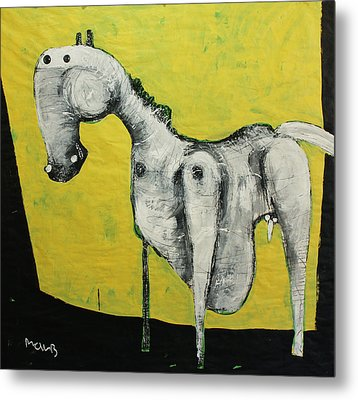 Animalia  Equos No 2 Metal Print by Mark M  Mellon