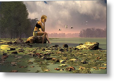 Another Day Metal Print by Dieter Carlton