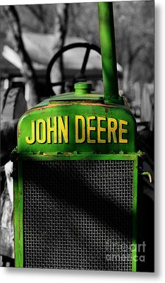 Another Deere Metal Print by Cheryl Young