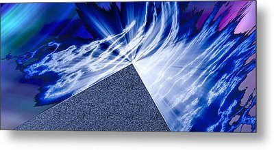 Another Pathway Through The Cosmos Metal Print by Kellice Swaggerty